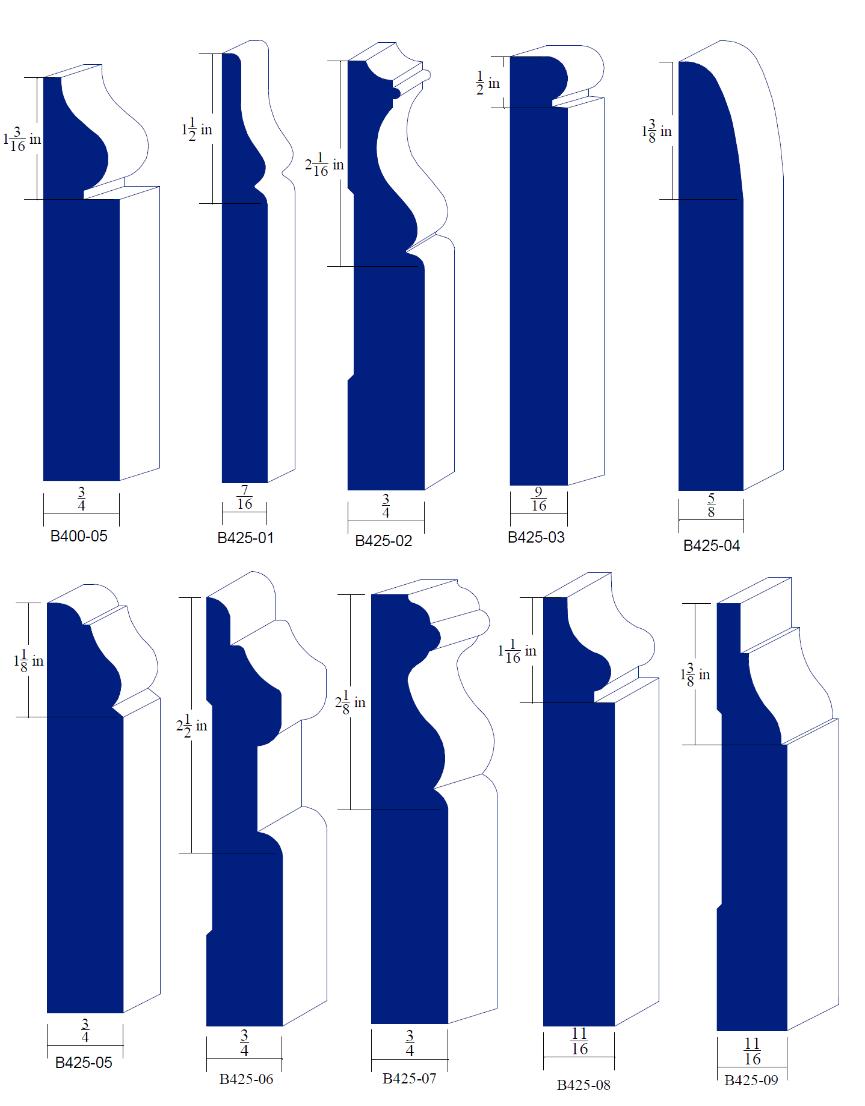 Custom Moulding Knives Baseboards A